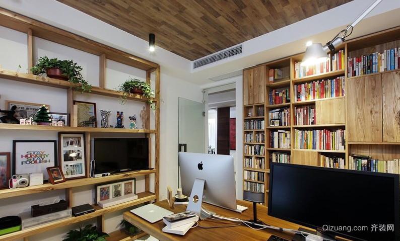 朴素50平米小户型书房装修效果图
