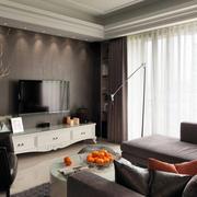 室内海藻泥电视背景墙