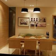 现代化餐厅照片墙