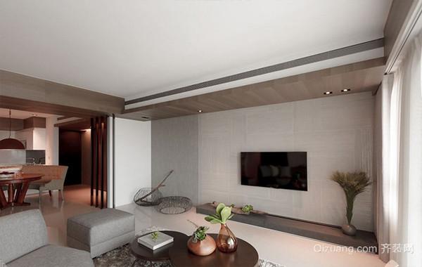 2016简约大户型家居客厅电视背景墙图