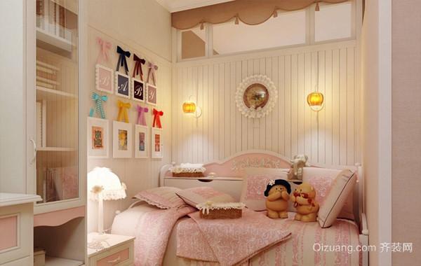 2016甜美优雅女神小卧室装修设计效果图