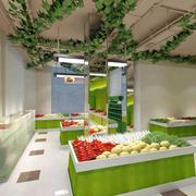 高级60平米小户型水果超市装修效果图