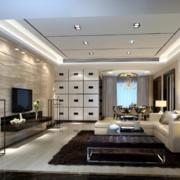 2016大户型欧式客厅室内飘窗装修效果图