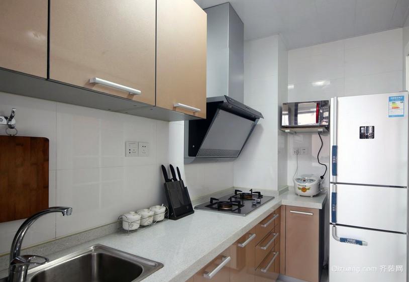 2016精致的欧式小户型小 厨房 设计 装修效果 图高清图片