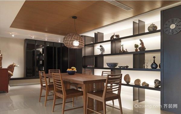 温馨宜家大户型餐厅装修设计效果图