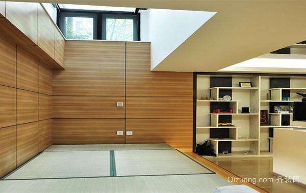 90平米大户型日式室内榻榻米装修效果图鉴赏