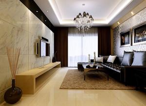 后现代风格50平米小户型客厅装修效果图
