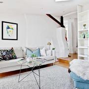 公寓白色纯洁空间