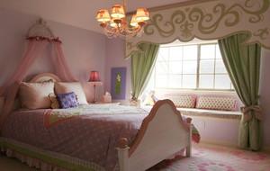 简欧温馨卧室床展示