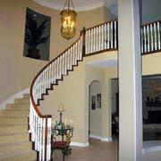 唯美的实木楼梯设计