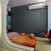 造型前卫的卧室展示