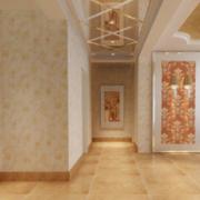 120平米大户型精美的欧洲走廊吊顶装修效果图