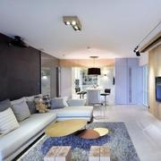单身公寓客厅沙发展示
