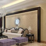 简欧式风格客厅墙纸