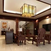 客厅简约中式设计