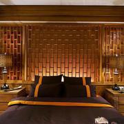 东南亚卧室背景墙欣赏