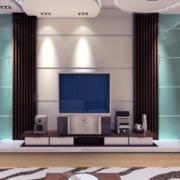 2016大户型欧式客厅电视背景墙装修效果图鉴赏