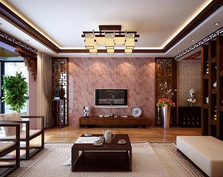 现代大户型欧式硅藻泥电视背景墙装修效果图鉴赏