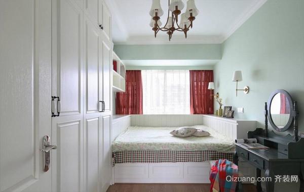 时尚现代榻榻米小卧室设计装修效果图