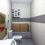 欧式卫生间整体图