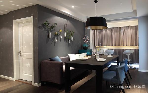 现代摩登145平米家庭餐厅装修设计效果图