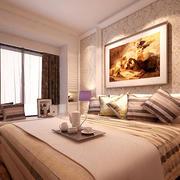 温馨大卧室墙纸图片