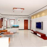 2016大户型欧式唯美的客厅吊顶装修效果图