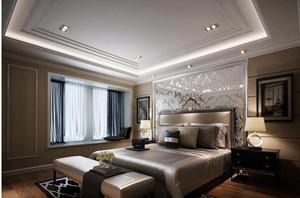 120平米新房新古典风格卧室装修效果图