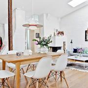 公寓大气实木餐桌