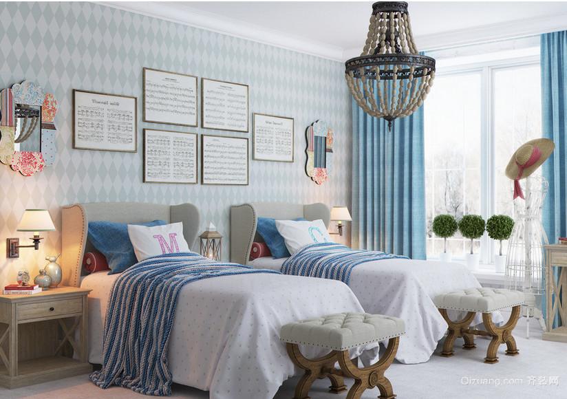 2016唯美的大户型欧式儿童房卧室吊顶装修效果图
