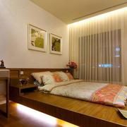 东南亚卧室榻榻米床