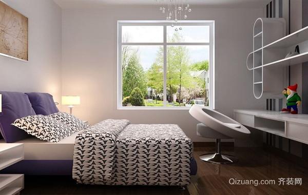 简约现代99平米单身公寓装修效果图