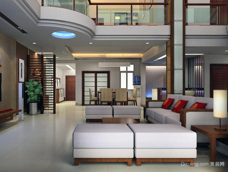 2016欧式现代别墅型楼中楼装修效果图实例图片