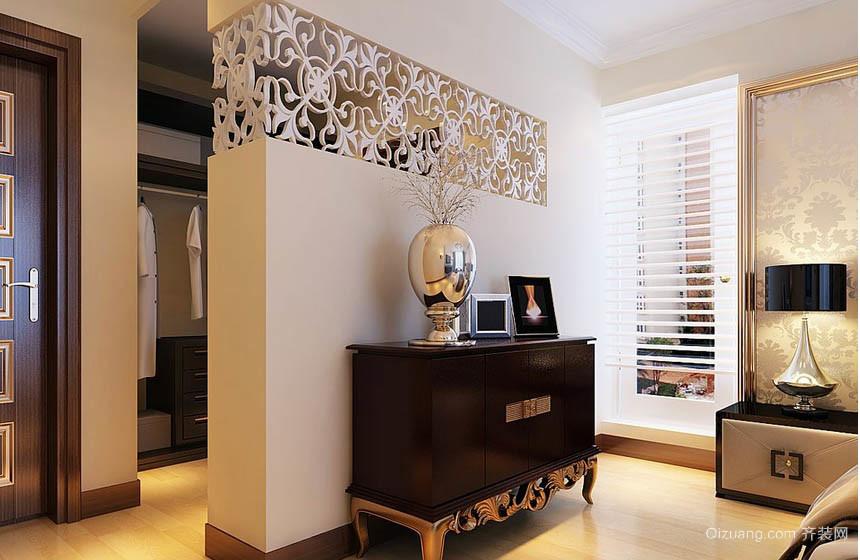 后现代100平米家居卧室装饰柜效果图