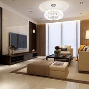 单身公寓客厅电视背景墙