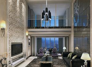 2016经济的欧式建筑小别墅客厅装修效果图鉴赏