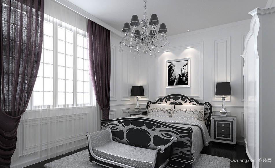 简约两居室新古典风格卧室装修效果图