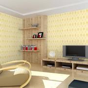 米黄色的简约墙纸