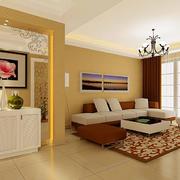 大气简单客厅墙纸