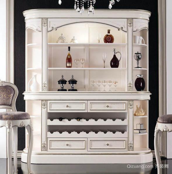 2016古典欧式风格家居酒柜效果图高清图片