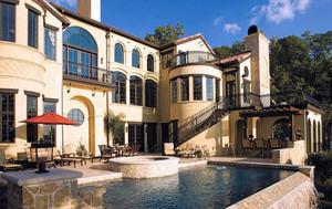 欧洲城堡式豪宅别墅装修设计效果图