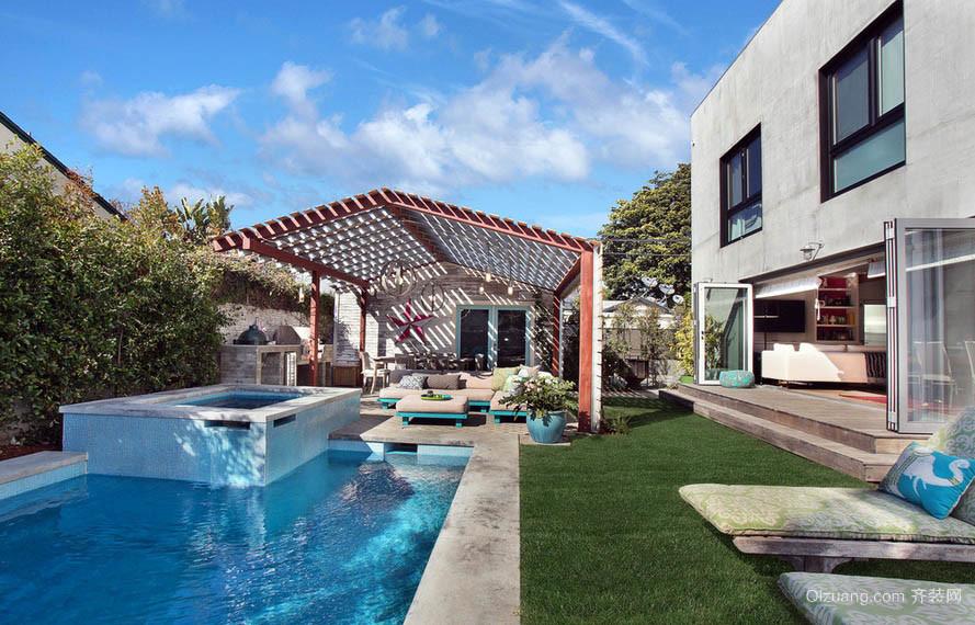 现代豪宅别墅阳光房装修设计效果图