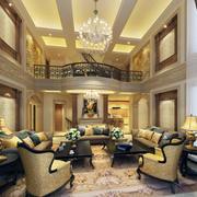 现代室内客厅造型图