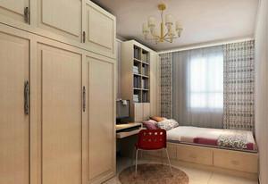 60平米都市小户型卧室榻榻米设计装修图
