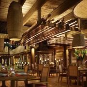自然风情的餐厅