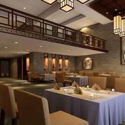高贵典雅餐厅展示