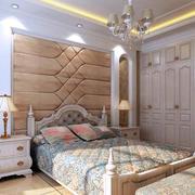 实木卧室衣柜展示