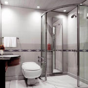浴室玻璃隔断欣赏