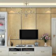 100平米大户型欧式电视柜背景墙装修效果图鉴赏