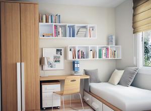 90平米实惠的大户型日式榻榻米书房装修效果图